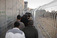 Lining Up at the Bethlehem Checkpoint