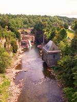 Ausable Chasm Waterfalls