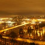 """Night view of Puttilo Bridge"" by Skookumchucksam"