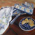 """Mouse & Cheese: Polish Pottery XXIX"" by 88heather"