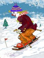 Clancy D. Clown Downhill Racer