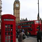 """London Icon::Telephone Booth, Double Decker Bus, B"" by zaidimuhamad"