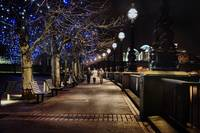 A Night Walk in London