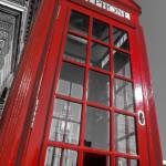 """London. Phone Box and Big Ben (2008 © Alan Copson)"" by AlanCopson"