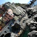 """Cliffs of Manarola"" by DonnaCorless"