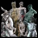 """""""Men of Piazza della Signoria"""" by martinographics"""