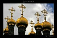 Cathedral domes in the Kremlin