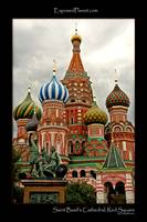 St Basil's cathedral at Red Square, Moscow
