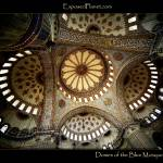 """Main domes of the Blue Mosque in Istanbul"" by ExposedPlanet"