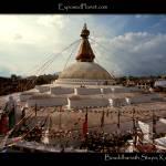 """Bouddhanath stupa in Kathmandu Nepal"" by ExposedPlanet"
