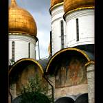 """""""Domes of the kremlin, Moscow, russia"""" by ExposedPlanet"""