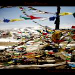 """""""Prayer flags at Lung La Pass, Tibet"""" by ExposedPlanet"""