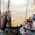 """Swansboro Shrimpboats"" by n2art"