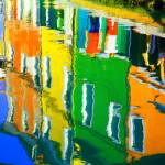 """Burano Reflections"" by DonnaCorless"