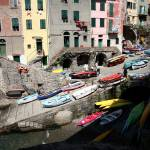 """Boat Ramp in Riomaggiore"" by DonnaCorless"