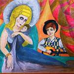 """Mother and Child In Music"" by Tomitheos"