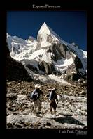 Porters near Laila Peak in Pakistan