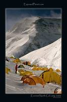 Northcol camp 2006, Everest, Tibet