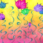 """""""Fantasy Floral"""" by SarahFisher"""