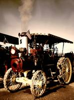 Old Steam Tractor