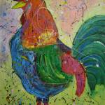 """""""The Rooster"""" by artbycassiday"""