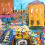"""Docked Boats"" by artbycassiday"