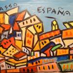 """Espana - Picasso"" by artbycassiday"