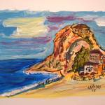 """""""Oceanside Village"""" by artbycassiday"""