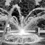 """Waterfront Fountain No. 2, Charleston, SC"" by PadgettGallery"