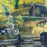 """""""Deer Camp Repairs"""" by kinglangart"""