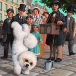 """The Bichon Frise"" by jacksby"