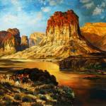 """Rendition of  "" The Green River"""" by scott_fenton55"