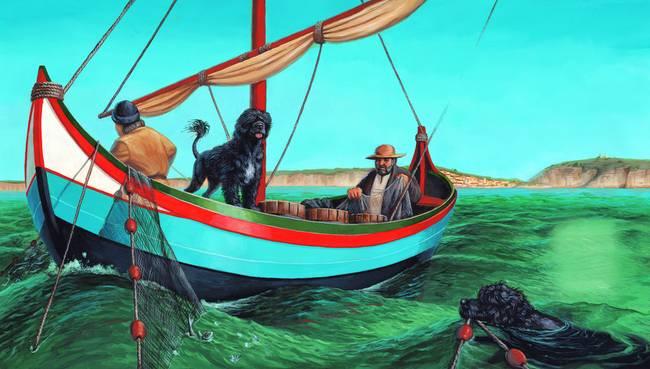 Τι έκανε ο Πορτογαλικός Σκύλος Νερού για τους ψαράδες...