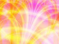 Beautiful Pink and Yellow Fractal