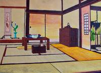 10 - Japanese Living Space