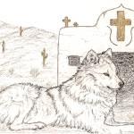 """Prayer Wolf"" by wolfsoul"