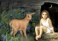 Child with Deer