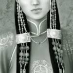 """Mongol girl"" by xuri1398"
