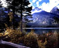 Taggart Lake in Grand Tetons National Park
