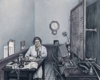 Aunt Hazel at the Postal Telegraph