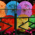 """Colorful Umbrellas"" by fberluteau"