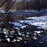 """John Bryan Winter Stream"" by RichardBaumer"