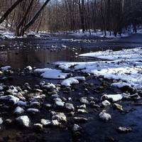 John Bryan Winter Stream