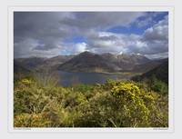 The Five Sisters of Kintail, highlands Scotland