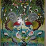 """birds on paradise 65.5x40in"" by saidart"