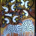 """zebra"" by saidart"