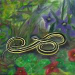 """Ribbon Snake"" by FTMcKinstry"