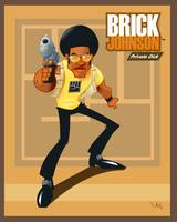 Brick Johnson Poster