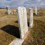 """marble gravestones form the 1800"