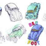 """volkswagen beetles"" by beepbeep"